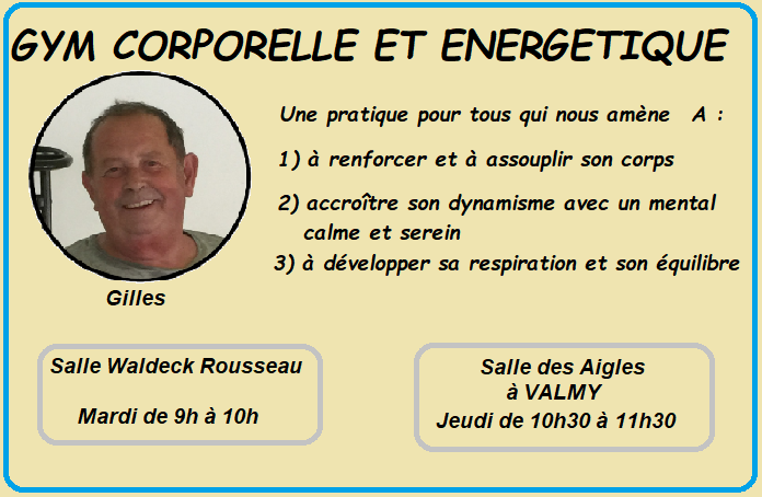 Page gym corporelle 1